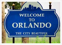 Taxi Cab in Orlando, Florida